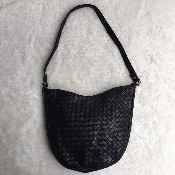 d0a8225e4b006 Bottega Veneta Bags | Vintage Intrecciato Black Bag | Poshmark